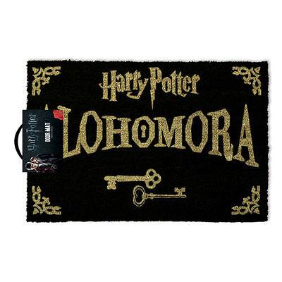 Harry Potter Alohomora Felpudo - 100% Fibra de coco Goma Parte trasera GP85067