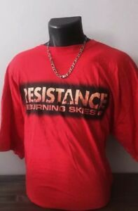 Tshirt-Maillot-Collector-Resistance-Jeux-Ps3-Gamers-Taille-XL