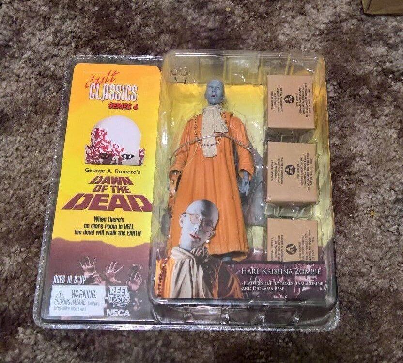 Hare Krishna Zombie-NECA-Cult Classics-Amanecer de los muertos-Nuevo en paquete Raro