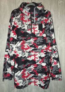 37c8a6179068 PUMA X Trapstar T7 Savannah Barbados Grey Red Black Camo Jacket NEW ...