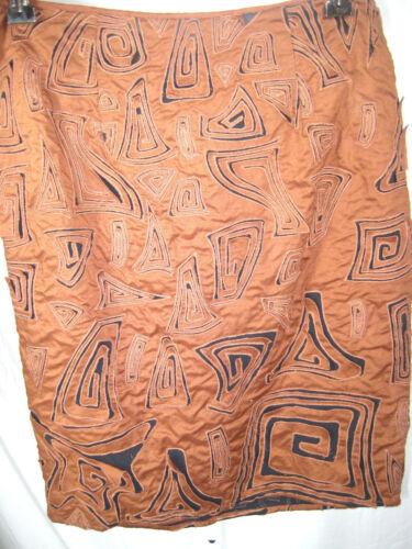 tagliata Gonna Malandrino taglia nera cotone Catherine 6 marrone in qBAX5x5w