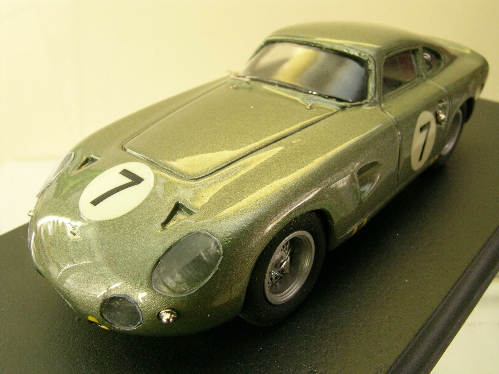 SMTS-MODELS RL44 ASTON MARTIN PROJECT 214 1963 7 GREEN + BOX SCALE 1 43