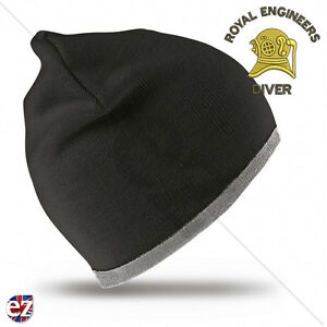 Image is loading Royal-Engineers-Beanie-Hat-with-Embroidered-Badge 8921faf2ad1