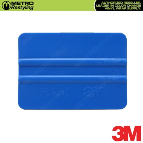 3M Hand Applicator Squeegee PA1-B Blue for Vinyl Wrapping Car Vehicle Wrap