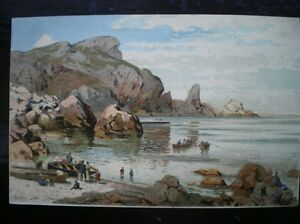 POSTCARD-TORQUAY-Ansteys-COVE-A-NICE-PAINTING