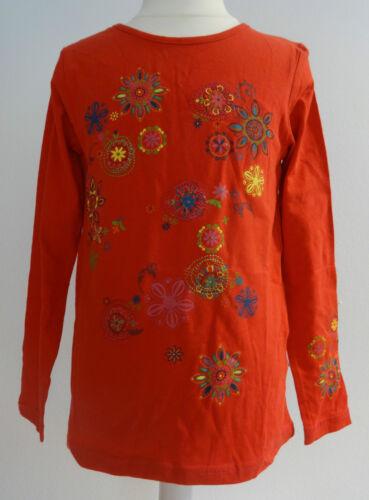 Nouveau paglie top chemise longue shirt broderie t 104 110//116 122//128 134//140