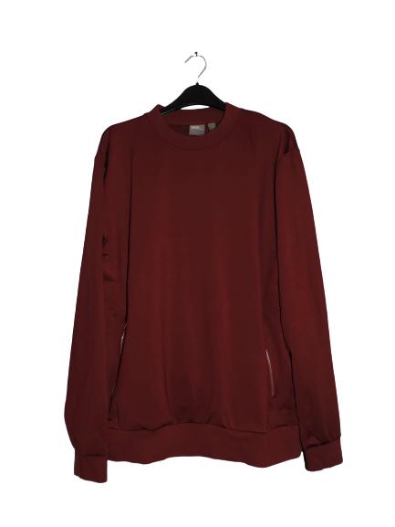 Asos Sweatshirt In Scuba Burgundy Size Medium DH008 JJ 14