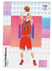 2017-18-Panini-Status-120-LAURI-MARKKANEN-RC-Rookie-Chicago-Bulls-QTY-AVAILABLE