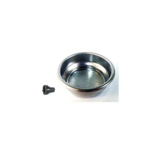 12//14g Gaggia 21000491 2 Cup Pressurised Filter Basket with Crema Filter Pin