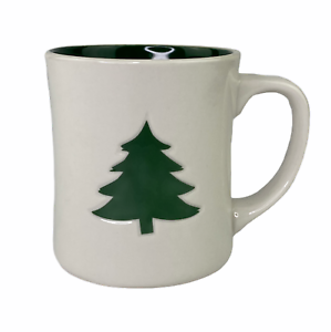 Starbucks-2008-Christmas-Ivory-White-Green-Pine-Tree-12-Oz-Coffee-Mug-Cup