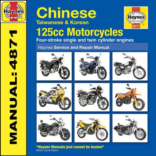 haynes 4871 repair owners manual chinese taiwanese korean 125cc rh ebay co uk chinese atv 125cc manual