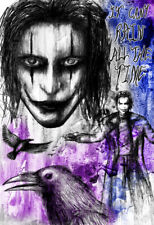 "Singin/' in the Rain Movie Silk Fabric Poster Rare 12.5/""x17/"""
