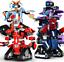 Bausteine-Fernbedienung-Roboter-Robert-Klug-Spielzeug-Geschenk-Modell-Kind Indexbild 1