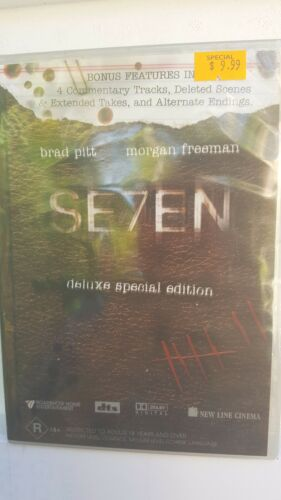 1 of 1 - Seven - Deluxe Special Edition [2 DVD Set] NEW & SEALED, Region 4, FREE Post