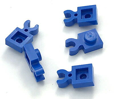 LEGO Lot of 12 White 1x1 Vertical Clip Plate Pieces