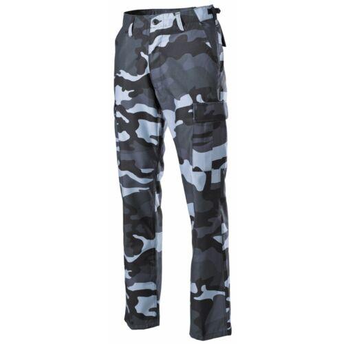 Pantaloni da combattimento statunitensi BDU blu cielo MF 01324X,