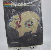Bucilla Plastic Canvas Kit Country Pig Doorstop / Mail Holder Craft
