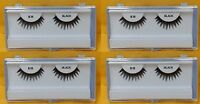 4 Boxes False Eyelashes Strip Eyelash 28 Black - - Free Ship