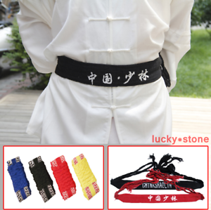 Chinese Kung Fu Shaolin Martial Arts Belts Wing Chun Sashes Waistband Cotton