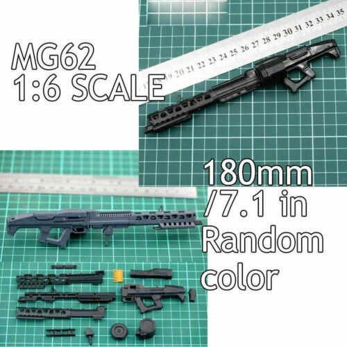 "1:6 Scale Assemble Gun Weapon Avatar MG62 Fit 12/"" Action Figures Model"