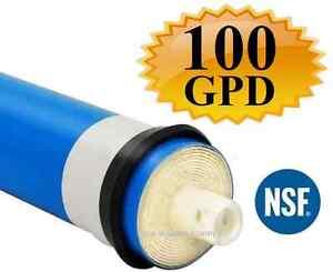 1 Ro Reverse Osmosis 100 Gpd Membrane Reverse Osmosis Tfc-2012-100 Ro Membrane Gagner Les éLoges Des Clients