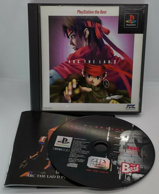 Arc the Lad II 2 for Sony PlayStation 1 PS1 NTSC-J Japanese 91071