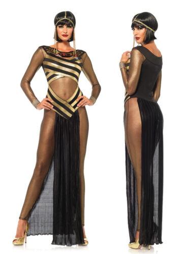 Egypt Cleopatra Goddess Roman Egyptian Ladies Halloween Fancy Dress Costume 8022