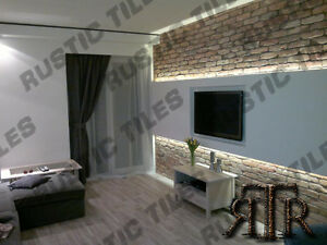 Image Is Loading Brick Slips Cladding Wall Tiles Old Featured Wall