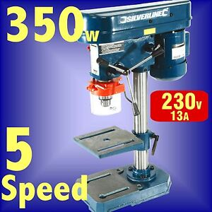 350w-5-Speed-PILLAR-DRILL-press-bench-machine-table-rotary-3-Year-Guarantee