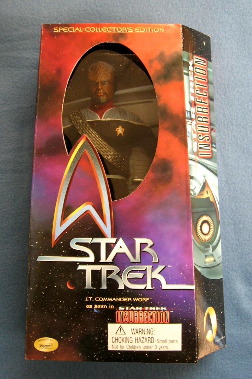 promociones Estrella Trek 12 pulgadas figura de de de insurrección lt. comandante Worf JugarMATES  encuentra tu favorito aquí