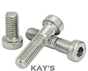 M6 x 20mm Hex//Hexagon Head Bolts Setscrews Free UK Delivery 20 PACK 6mm Stainless Steel Bolt