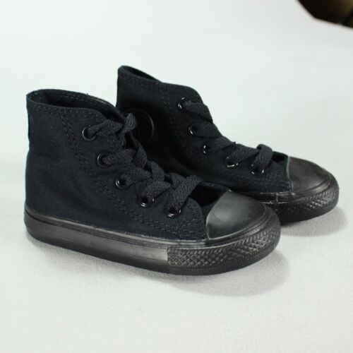 Baskets Noir Toddlers 3 New 4 In 10 Converse t Monochrome Pompe 7 Uk Salut Taille Box nourrissons 5 9 C 6 7fdH0nXq