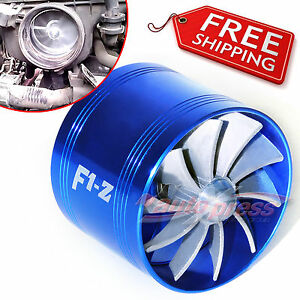 2-5-2-9-AIR-INTAKE-FAN-Short-Ram-Turbo-Turbonator-TURBINE-Charger-Fuel-Saver-BL