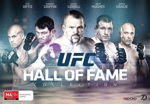 UFC Hall Of Fame DVD SPORT MIXED MARTIAL ARTS GIFT BOX SET BRAND NEW RELEASE R4