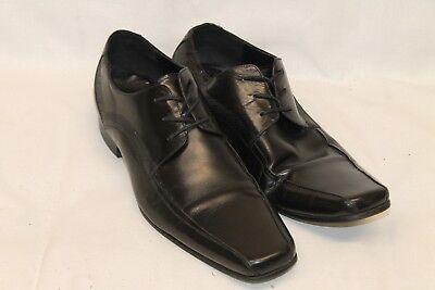 11 M KOHL'S Black Leather Dress Shoe