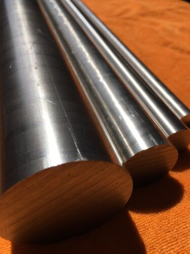 """100mm to 1000mm Long Stainless Steel 303 Round Solid Bar 1//4/"""" to 2/"""" Dia"""