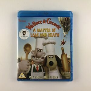 Wallace-And-Gromit-A-Matter-Of-Loaf-And-Death-Blu-ray-2009-New-amp-Sealed
