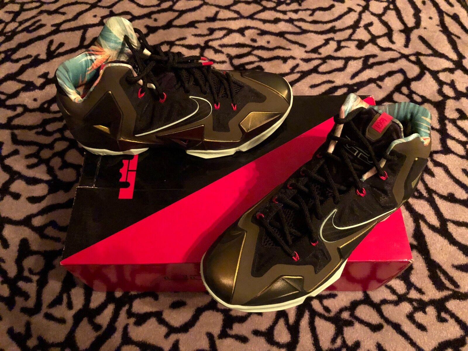 new style e8e16 eb610 Nike Lebron XI Kings Pride Parachute Gold 10 DS DS DS NRG,QS,TZ