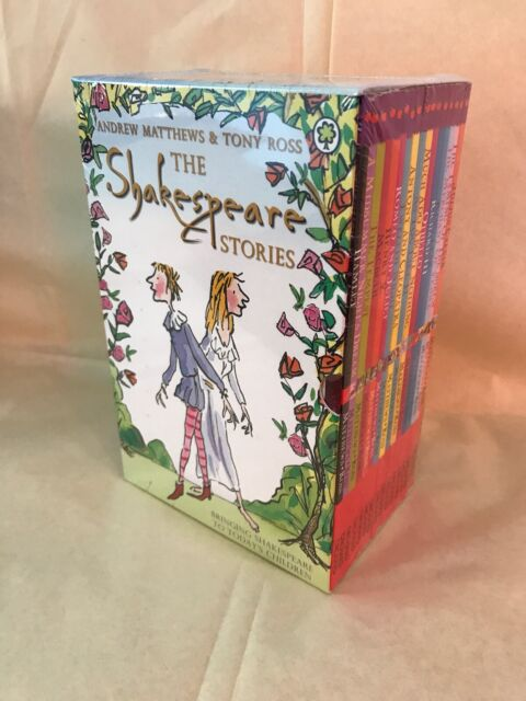 Shakespeare Stories 16 Books Children Collection Paperback By Andrew Matthews