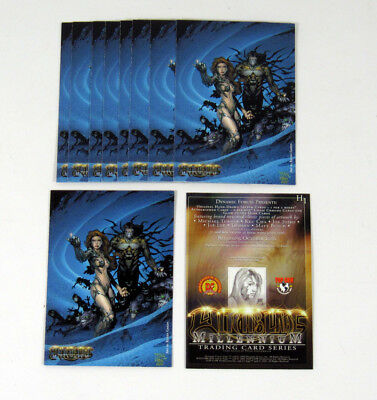 WITCHBLADE MILLENNIUM 2000 DYNAMIC FORCES PROMO CARD H1