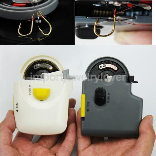 Electric Fishing Hook Tier Metal ABS Automatic Machine for Fish Hook Line 2018##