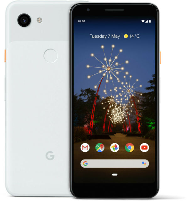 Google Pixel 3a Clearly White, TOP Zustand
