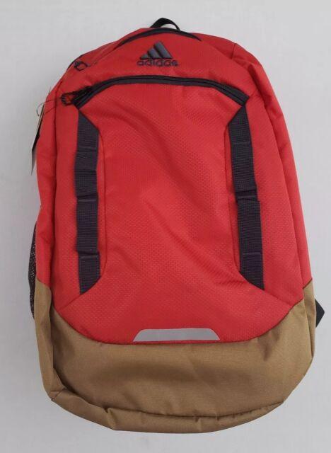 Adidas Excel IV Laptop Red Backpack Media Pocket Loadspring Tech LIFETIME b58872730d132
