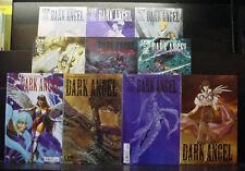 Dark Angel  #1-18 lot +variant # 1 & 4 Kia Asamiya- CPM Manga (1999) - VF/NM