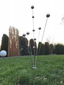 Edelstahlstele-Simply2013-Gartenstecker-Edelstahl-Gartendeko-Skulptur-Rosenstab