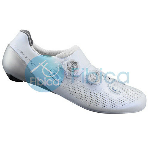 nuovo 2019 Shiuomoo SHRC901 SPhyre autobon Fiber strada Cycling sautope bianca EU44