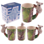 thumbnail 61 - Animal Shaped Handle Ceramic Mug Tea Coffee Cup Novelty Gift Jungle Tropical