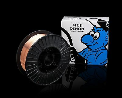 ER70S-6 .035 MIG Steel Welding Wire 33 lb Spool Blue Demon