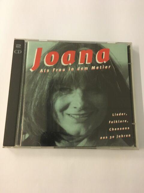 JOANA Als Frau in dem Metier / 39 x Lieder, Folklore, Chansons .. 1998 DO-CD TOP