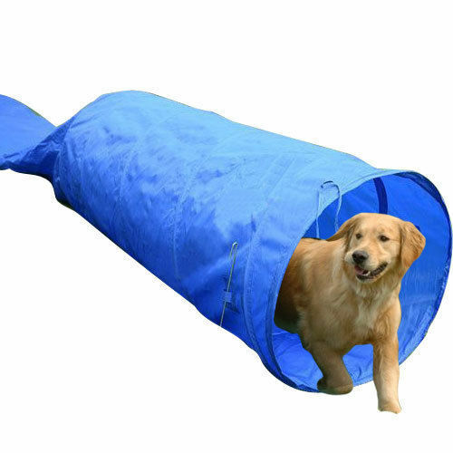 HOMCOM Dog Agility Equipment Tunnel For Training Obedience With Free Bag 5M New